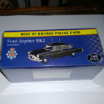 Atlas editions Best of british police cars  Ford Zephyr mk2 Lancashire @sold@